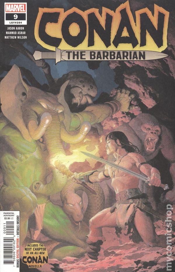 Conan The Barbarian comic books issue 9