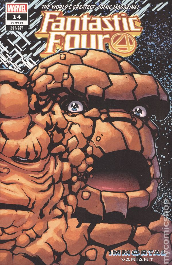 5th Series Annual #1 2014 VF Stock Image Fantastic Four