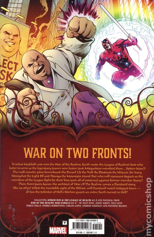 War Of The Realms #1 War Scrolls 1ST Print 2019 Aaron MARVEL