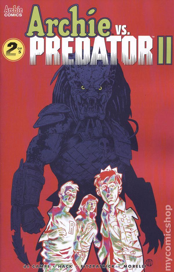 Archie vs Predator II #3C Hester Variant NM 2019 Stock Image