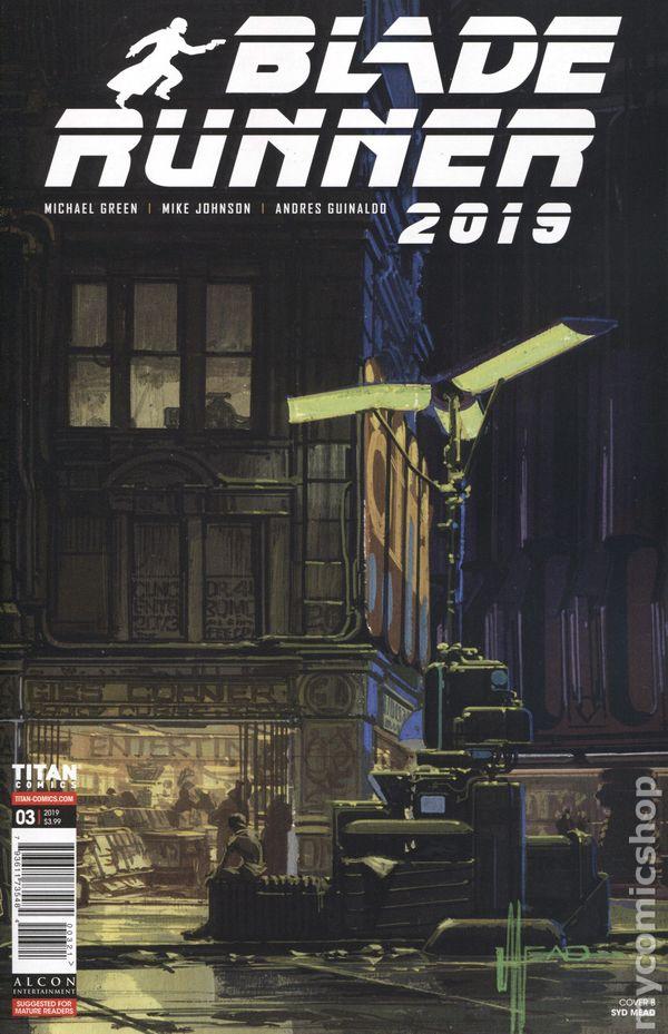 Blade Runner 2019 #3A VF Stock Image