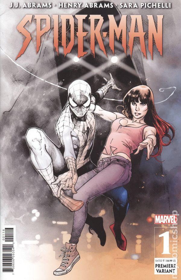 1st Print NM 2019 J Marvel Abrams//Sara Pichelli Spider-Man J #1