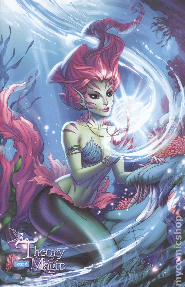 Theory of Magic #1  J.P Roth Comics CB10616