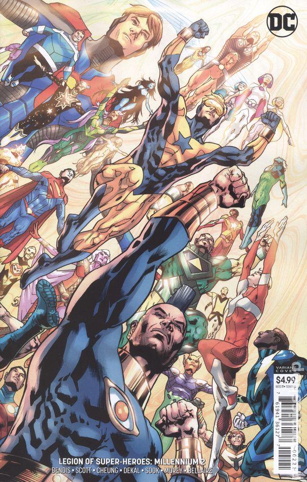 Star Trek Legion of Super Heroes #2 Phil Jimenez Cover A IDW DC Comics #2A 9.4
