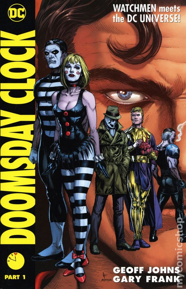 Doomsday Clock Hc 2019 2020 Dc Comic Books