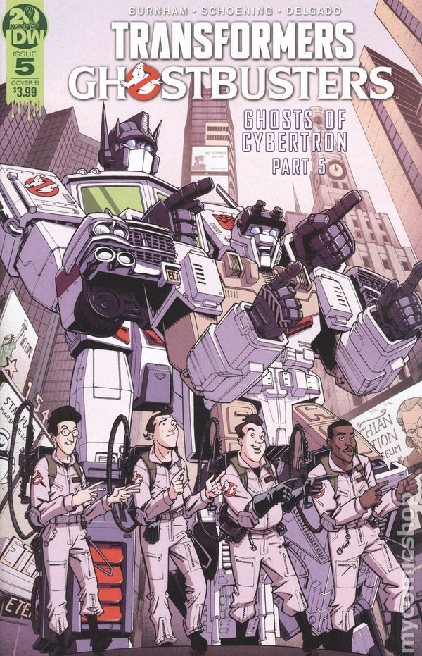 IDW Comics 2019 Cover B Transformers Ghostbusters #4