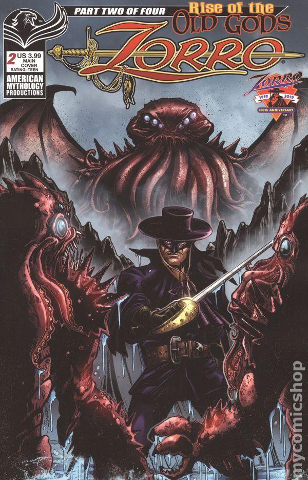 Zorro Galleon of the Dead #2B NM Stock Image