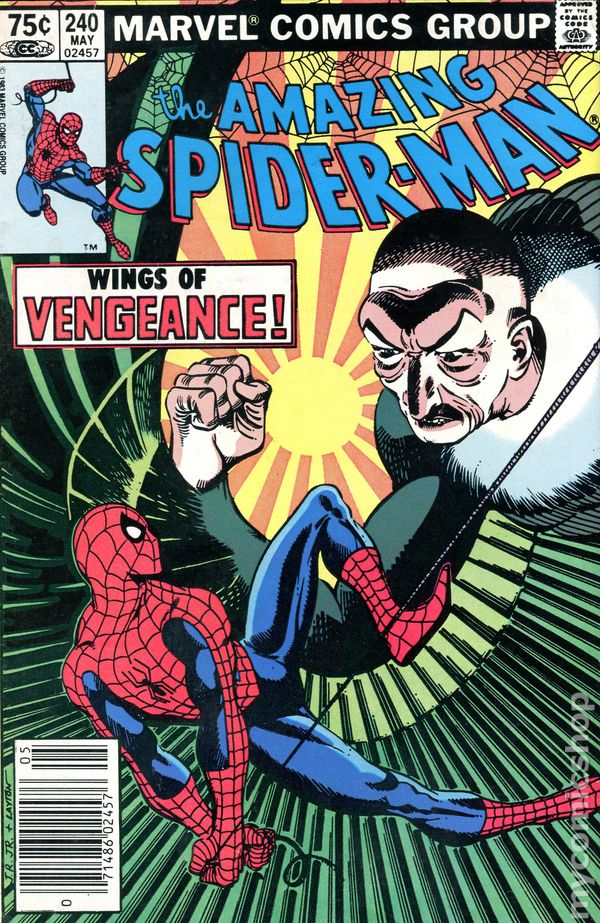 1st Series Amazing Spider-Man #245 1983 FN//VF 7.0 Stock Image
