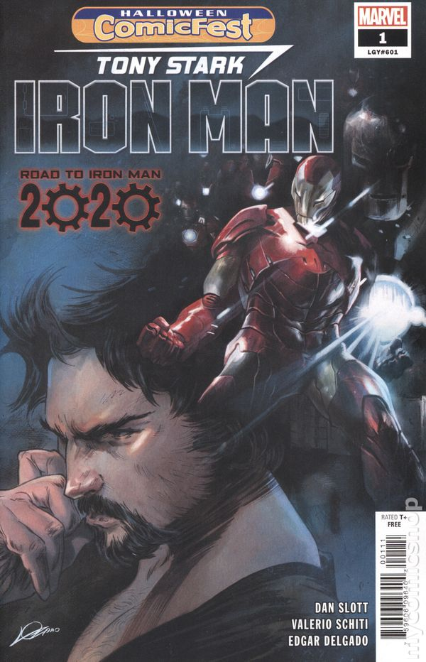 Marvel Halloween 2020 Comics Iron Man Road to Iron Man 2020 (2019 Marvel) Halloween ComicFest