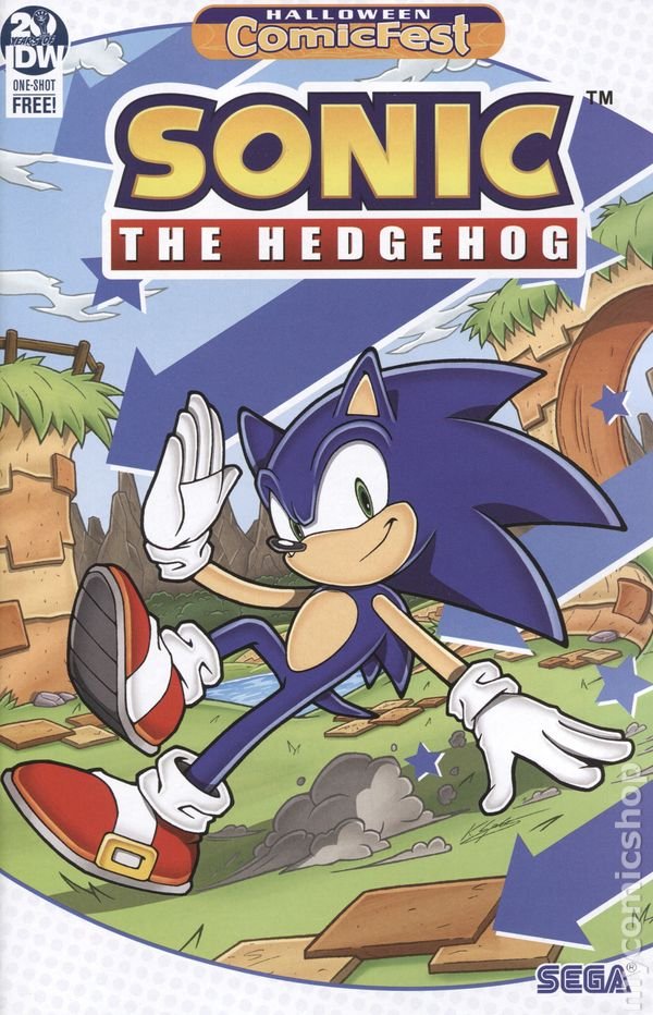 Sonic The Hedgehog Comic Books Issue 1
