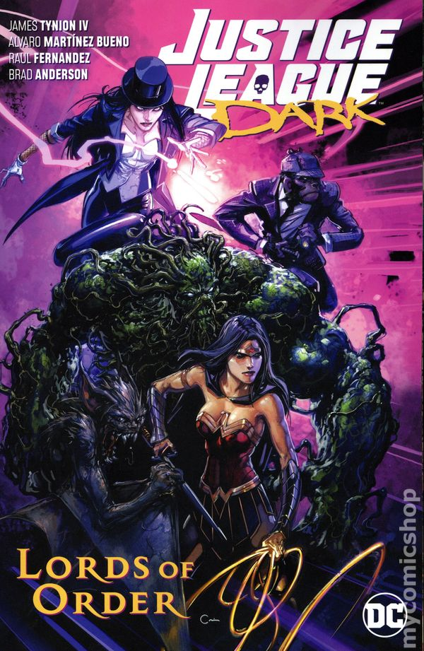 Justice League Dark #13B Quintana Variant NM 2019 Stock Image
