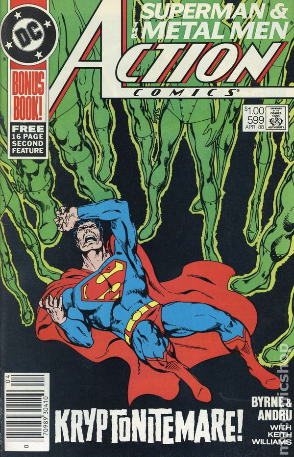 The Adventures Of Superman #439 April 1988 DC Comics Byrne Ordway Beatty