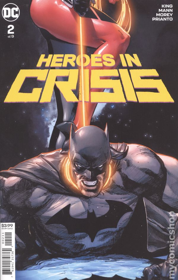 HEROES IN CRISIS #1 CGC 9.8 MATTINA 1:200 HARLEY QUINN VARIANT DC COMICS