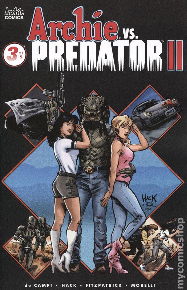Vault 35 ARCHIE vs PREDATOR #3 Jones Var Cover 1st Printing Dark Horse NM 2015