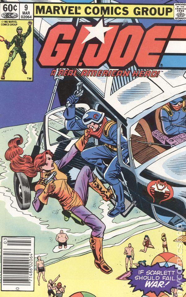 A REAL AMERICAN HERO #42 VF 1982 MARVEL COMICS 1st PRINT G.I JOE