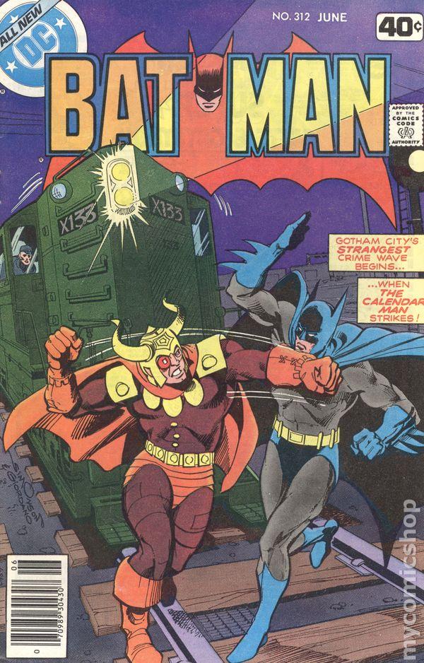 Batman #325 FN 6.0 1980 Stock Image