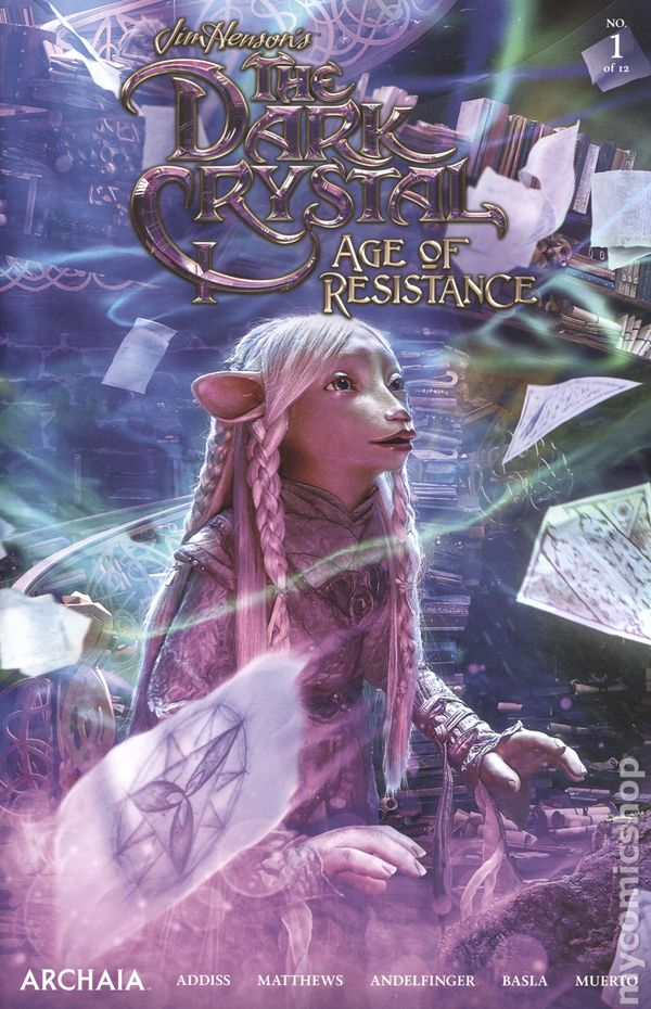 BOOM The Dark Crystal Age of Resistance #1  BLANK Sketch Cover Variant READ D