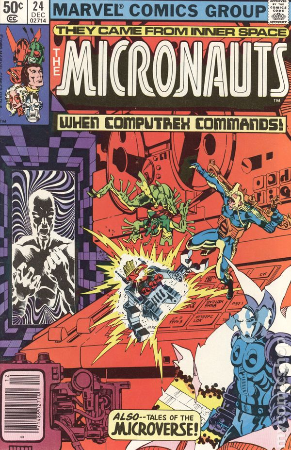 Micronauts #44 VF 1982 Stock Image