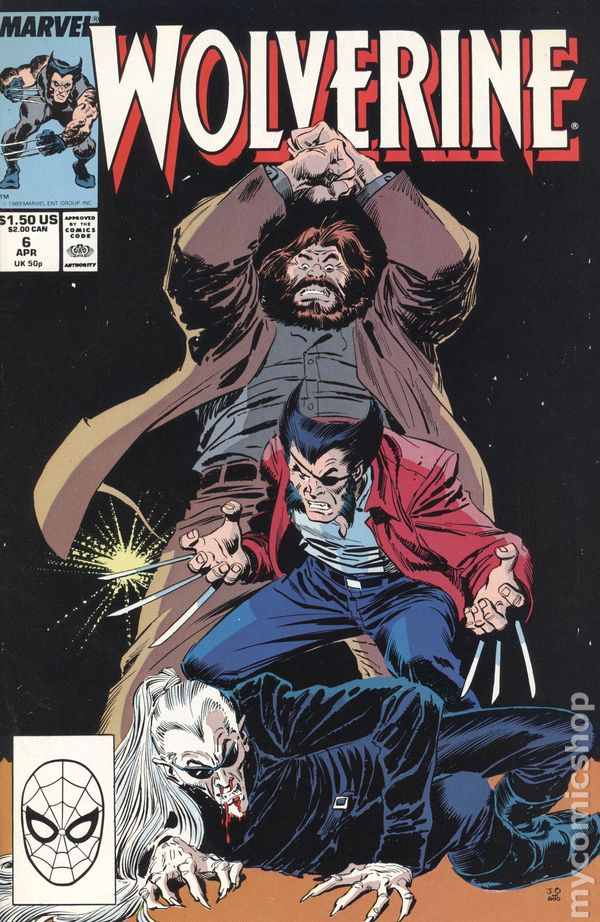 Wolverine #48 FN 6.5 1991 Stock Image