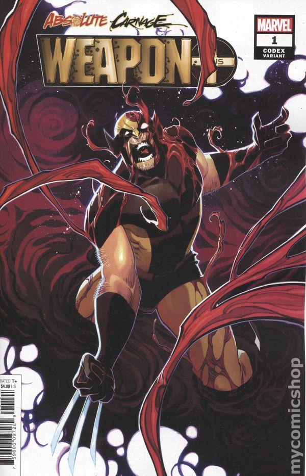 Absolute Carnage Scream #1 Dauterman Young Guns Variant Marvel NM Comics Book