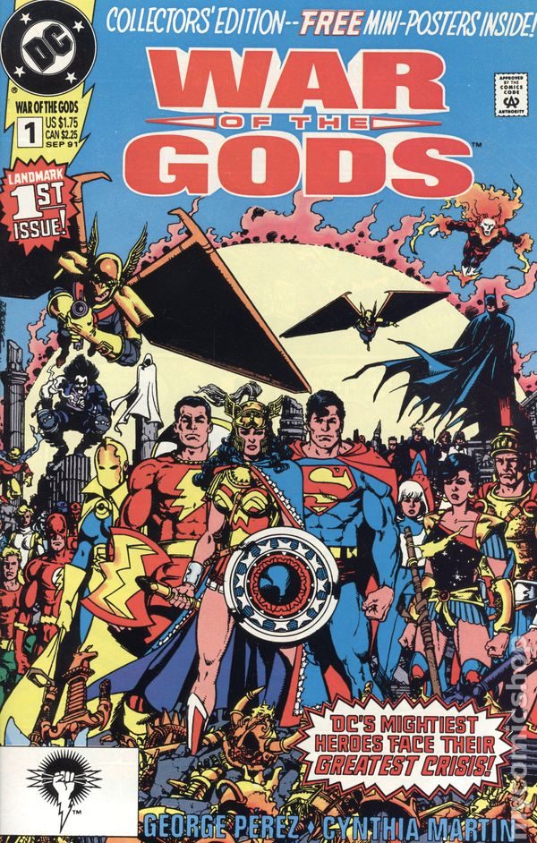 Hawk and Dove 1989 series # 15 near mint comic book