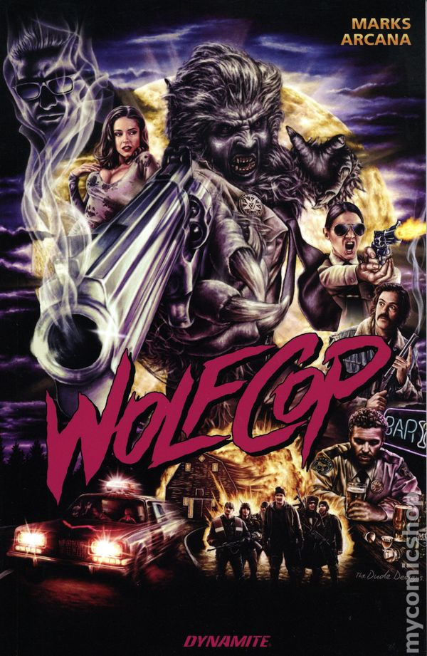 Wolfcop TPB #1-1ST NM 2019 Stock Image