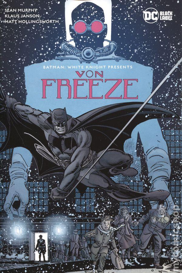 Batman White Knight Presents Von Freeze 1A Murphy Variant VF Stock Image