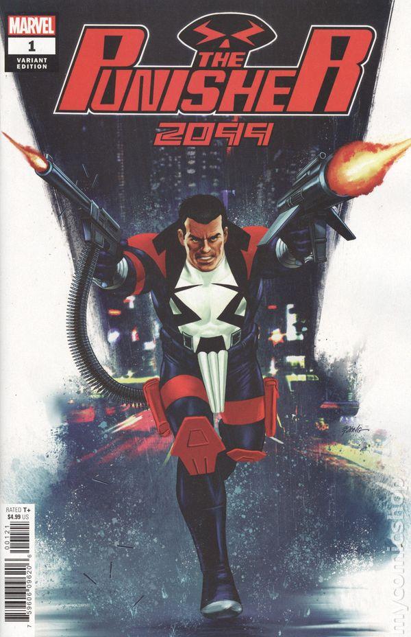 2019 Neuware Punisher 2099 new Variant Cover Lim