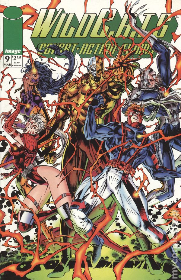 Wildcats Covert Action Teams 1992 series # 14 near mint comic book