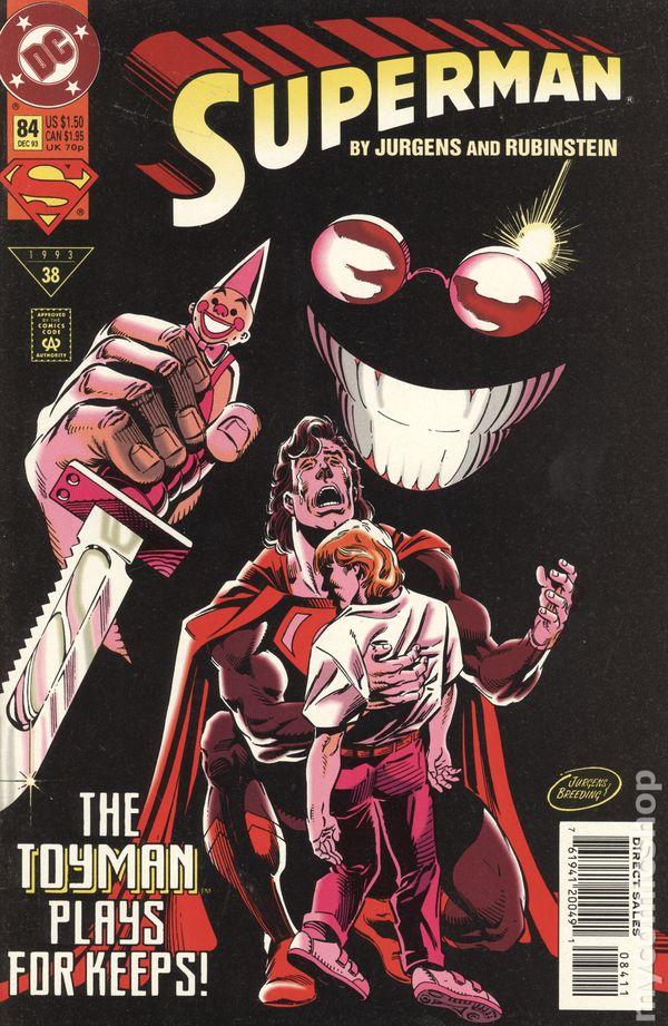 Superman 1987 series # 84 very fine comic book