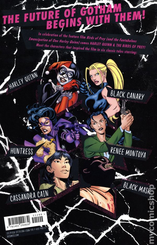 Harley Quinn And The Birds Of Prey Tpb 2019 Dc Comic Books