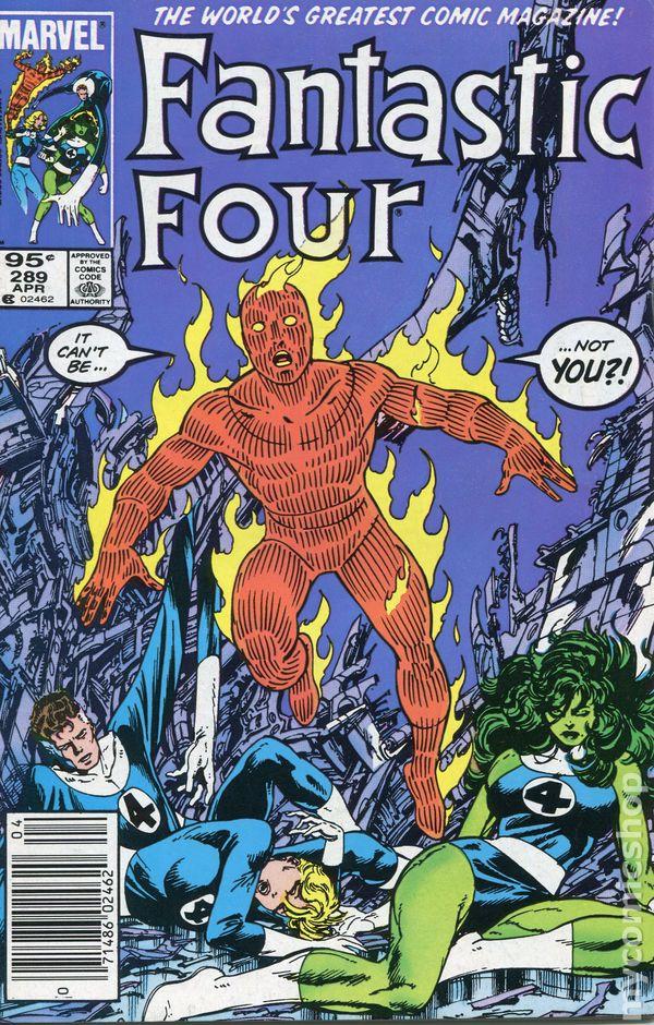 Fantastic Four #293 FN 1986 Stock Image