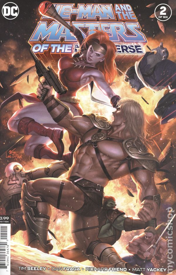 HE-MAN AND THE MASTERS OF THE MULTIVERSE #3 DC COMICS  2019 STOCK IMG