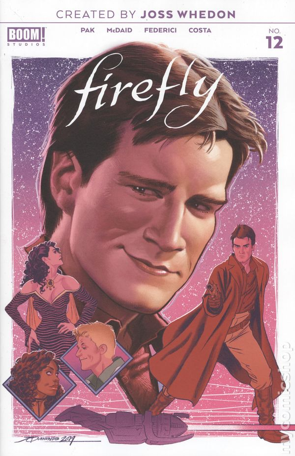 Firefly #11B Quinones Preorder Variant NM 2019 Stock Image