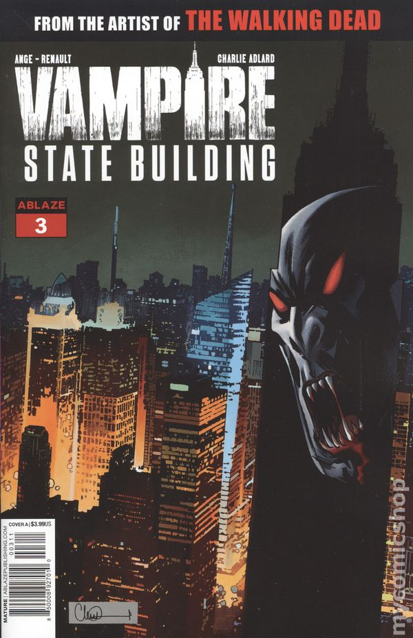 Vampire State Building #1 1st Print Cover A Ships 9//18//19 2019