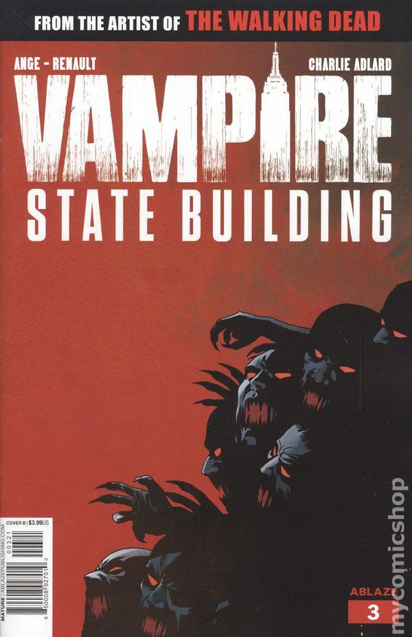 M ABLAZE EB64 VAMPIRE STATE BUILDING #3 CVR E 10 COPY INCV GLOW IN DARK