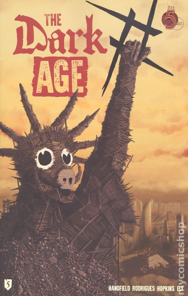 DARK AGE #3 BY RED 5 COMICS