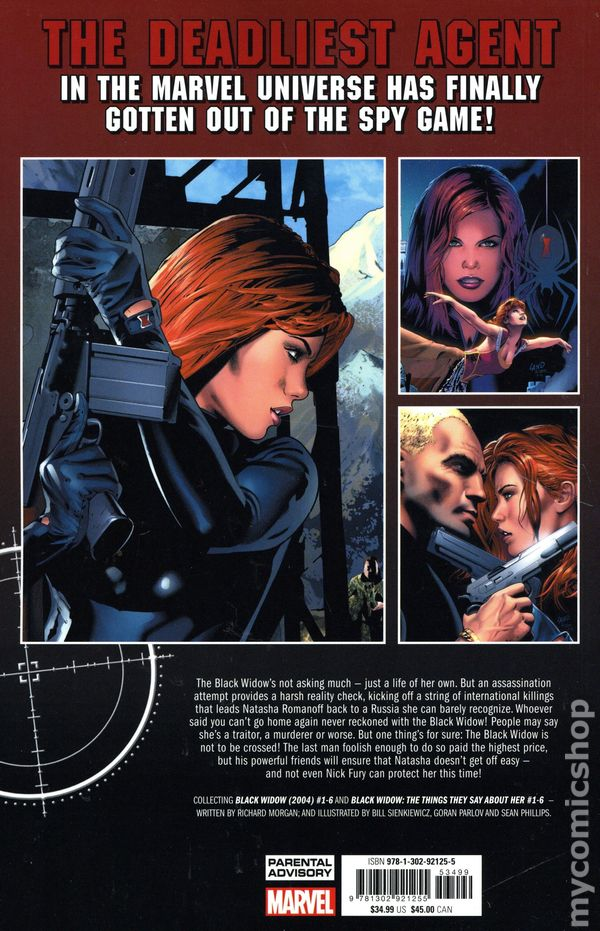 Black Widow Welcome To The Game Tpb 2020 Marvel Comic Books 2020