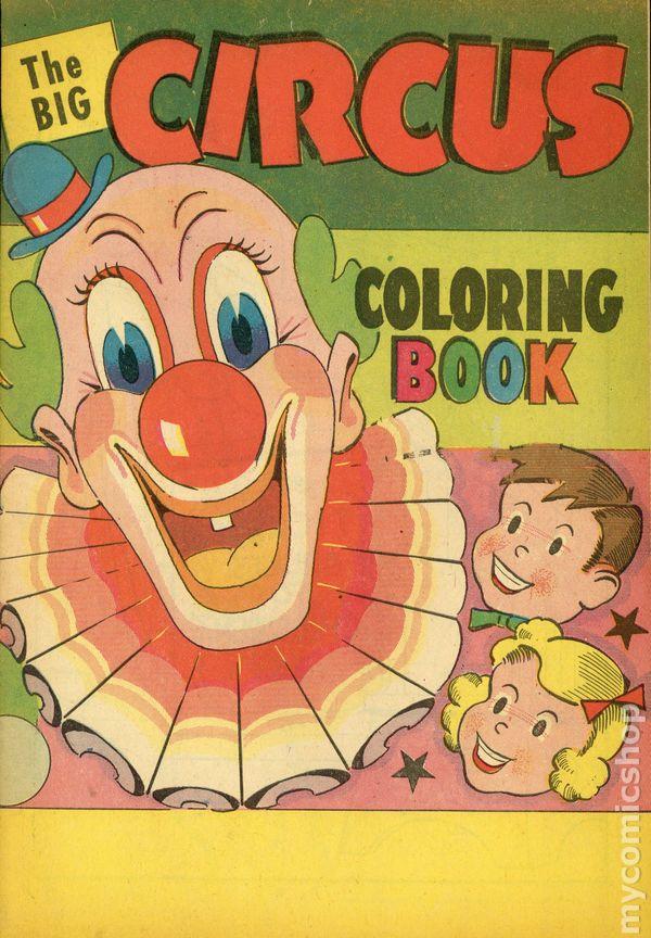 - Big Circus Coloring Book (1965 WM. C. Popper) Comic Books