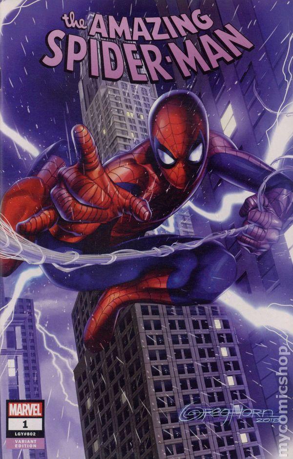 Amazing Spider-Man Annual 1B Dell/'Otto Variant VF 2018 Stock Image
