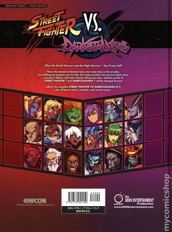 Street Fighter Comic Books Issue 1