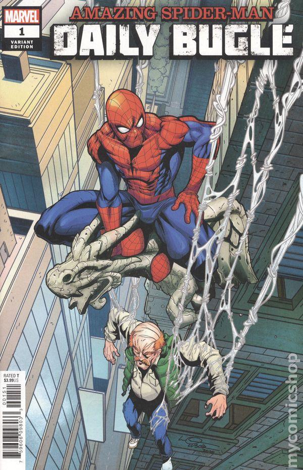Amazing Spiderman Volume 5 #15 skrulls variant 9.6