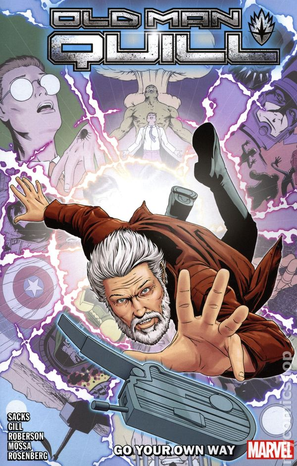Old Man Quill #8 VF 2019 Stock Image