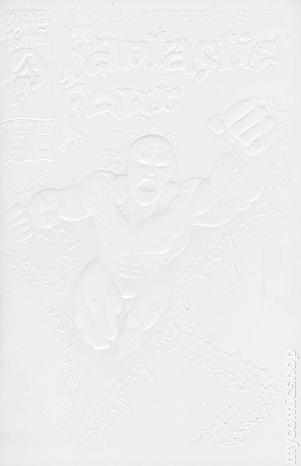 Fantastic Four #383 VF 1993 Stock Image