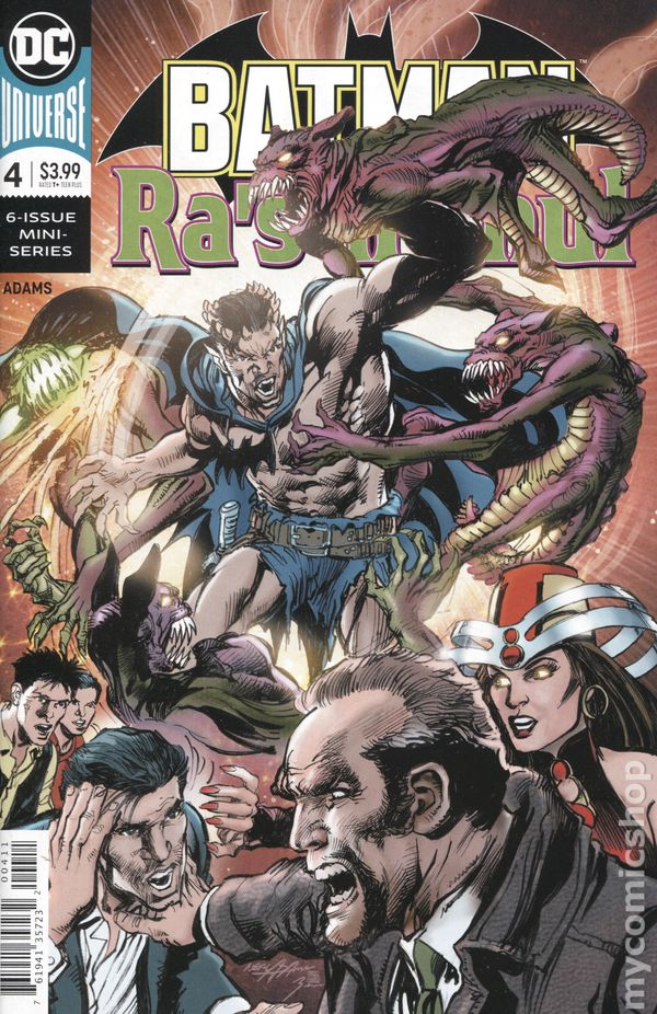 Batman vs Ra/'s Al Ghul #1 DC Universe 2019 Series Neil Adams 9.6 Near Mint+