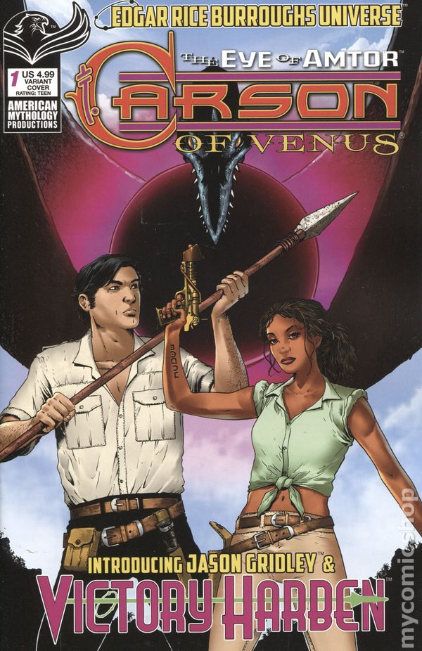 Princess of Venus #1 Pulp Variant Cover STOCK PHOTO American Mythology 2019