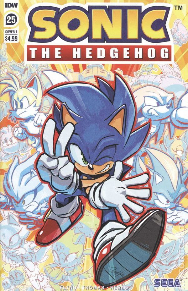 SONIC THE HEDGEHOG #16A  2019