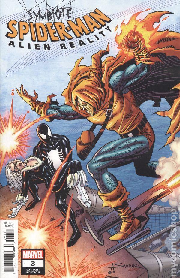 Symbiote Spider-Man Alien Reality #3 2020 Unread Ron Lim Variant Marvel Comics