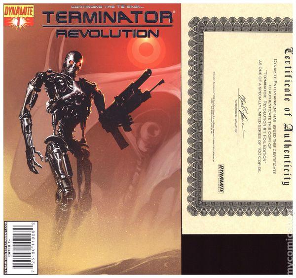 1998 Alan Grant Steve Pugh /& Guy Davis The Terminator No.1-4 /& Special
