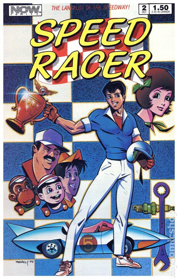 NEW UNREAD Speed Racer Comic Book #11 NOW 1988